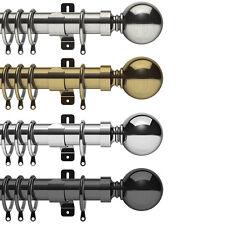 Swish Elements Belgravia - 35mm Metal Curtain Pole Sets