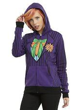 DC Comics The Joker & Harley Quinn Reversible Girls Cosplay Hoodie