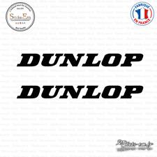 2 Stickers Dunlop Decal Aufkleber Pegatinas DUN01 Couleurs au choix