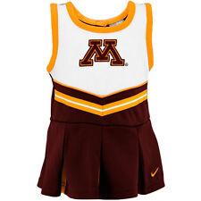 Nike Minnesota Cheerleader Dress Girls Maroon 2 Piece Size 4, 4T, 6, 12