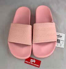 fa71e5bcc19939 New Mens Adidas ADILETTE Pantone Slides Sandals Pink Beach Flip Flops BA7538