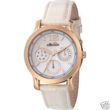 ellesse 556MF Ladies Dress Watch w/ Gold IP Case - $165
