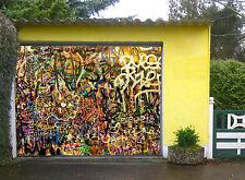 3D Graffiti Amoureux 77 Garage Porte Peint en Autocollant Murale AJ WALLPAPER FR