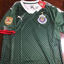 Puma Chivas Champion Green 3rd Jersey Chivas Campeón Jersey Verde 17/18 Mexico