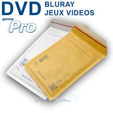 Enveloppes à bulles PRO format spécial DVD / BLURAY / JEUX VIDEOS