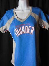 Oklahoma Thunder Women's G-III Hands High V Neck Tee Shirt