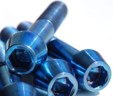 Titan vis m8 x 40-50 mm Conique DIN 912 grade 5 Bleu