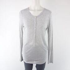 Lot chemise 55275 38 40 gris Modal léger à manches longues Patte de boutonnage