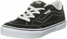 Vans Boy's Bearcat (S11) Black/White Skateboarding Shoes