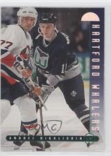 1995-96 Leaf #11 Andrei Nikolishin Hartford Whalers Hockey Card