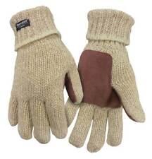 Northstar Mens Full Finger Ragg Wool Glove 3M Thinsulate 40 Gram Insulation Rag
