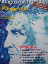 MAGAZINE LITTERAIRE 1996 No 341 FITZGERALD GATSBY / GINSBERG / EUDORA WELTY