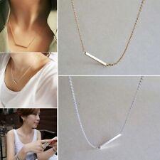Pendant Bar OL Simple Bone Necklace Horizontal Stick
