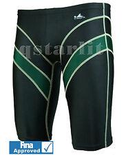 FINA Approved Boys Men Male Professional Racing Swimwear Jammer Sz 22-32, S-XXL