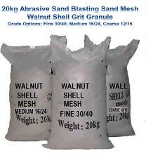 Abrasive Sand Blasting Sand Mesh Walnut Shell Grit Granule Fine Medium Coarse