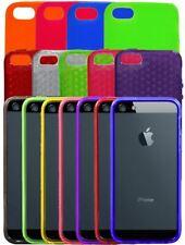 Coque Housse Étui en Silicone TPU Polycarbonate Cuir pour Apple iPhone 5 / 5G