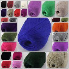 Sale New 1 ball x 50g Soft Warm Super Fine Pure 100% Cashmere Hand Knitting Yarn