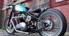 "7/8"" chrome drag bars- Triumph, BSA, Honda chopper, custom, chopper, bobber,"