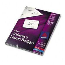 office depot white 400 adhesive name badges same as avery 5395 ebay