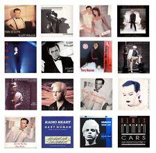 "MINIATURE 1/12 Non Playable 12"" RECORD ALBUM - GARY NUMAN VARIOUS TITLES Lot-3"