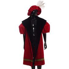 Shakespeare Henry VIII Men Cloak Cape with Hat Renaissance Vintage Costume