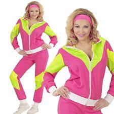 80er Jahre Retro Jogginganzug Trainingsanzug für Damen - Karneval Fasching #9881