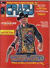 Crazy #5 magazine 1974
