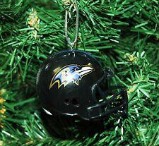 Baltimore Ravens Football Helmet Christmas Ornament
