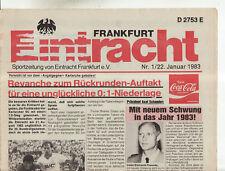 BL 82/83  Eintracht Frankfurt - Karlsruher SC