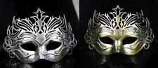Roman gladiator venetian Mens masquerade Mask Masked ball Halloween Fancy Dress