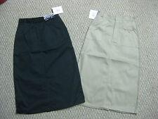 Girls Skirts skirt Uniform Khaki Navy Blue 7 8 10 12 14 18 20 1/2 school NEW