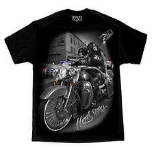 DGA Ride or Die High Stakes Mens Black T Shirt Tattoo Urban Streetwear