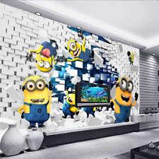 Many Cute Minions 3D Full Wall Mural Photo Wallpaper Printing Home Kids Decor