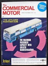 COMMERCIAL MOTOR MAGAZINE 6 NOV 1964 - LEYLAND PANTHER CUB, ERF, DAWSON