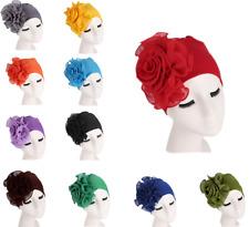 Women Ladies HeadScarf Turban Hat Chemo Cap Flower Muslim Headwear Wrap Fashion