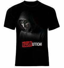 Anonymous V for Vendetta Evolution T-Shirt Neu 100% Cotton All Sizes