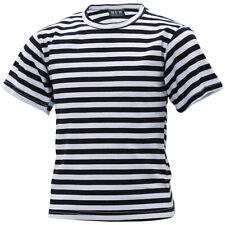 T-shirt bambini RUSSO MARINAIO blu-bianco a Righe Kids MARINAIO maglia, S-XXL