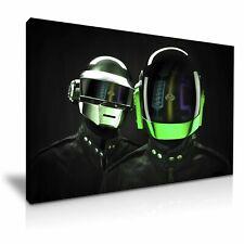 Daft Punk Helmet DJ Band Music Canvas Modern Home Art ~ 5 Size to Choose