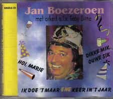 Jan boezeroen- Ik doe t maar ene keer in t jaar cd maxi single