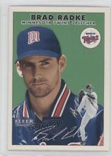 2000 Fleer Tradition Glossy #135 Brad Radke Minnesota Twins Baseball Card