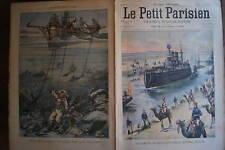 LPP 1904 N 827 UN SCAPHANDRIER ATTAQUE PAR UNE PIEUVRE