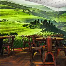 3D Paysages Vert 6 Photo Papier Peint en Autocollant Murale Plafond Chambre Art