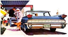 1959 Oldsmobile 98 Holiday Sport Sedan - Promotional Advertising Poster