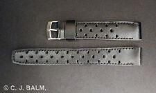 Cuero negro de conductor » Gt « estilo Correas-Diseño pequeño agujero - 18 Mm