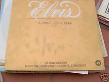 DOPPIO LP ELVIS A TRIBUTE TO THE KING BUCKY DEE JAMES