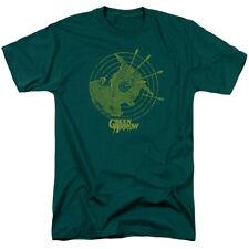 DC COMICS GREEN ARROW ALWAYS ON TARGET Licensed Men's Graphic Tee Shirt SM-3XL