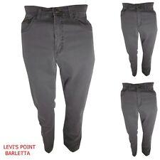 Pantaloni uomo cotone a jeans elasticizzato vita alta Wrangler dritto W30 W34