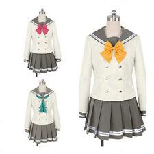 Love Live! Sunshine! Takami Chika Sailor Dress JK Uniform Cosplay Costume Gift