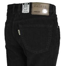 JOKER Herren Kord Jeans   Harlem Walker ( Comfort Fit ) schwarz