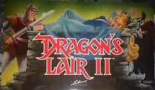 Dragon's Lair 2 Arcade Marquee